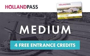 Holland Pass: Adgang til mer enn 100 severdigheter og museer