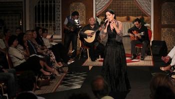 Visite nocturne de Lisbonne avec spectacle de fado et dîner