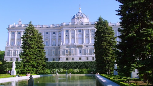 Frotn of the Royal Palace of Madrid