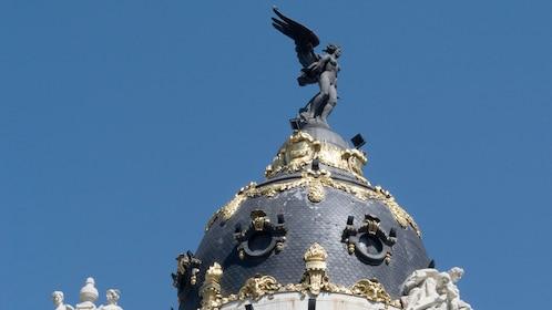 Top view of the Metropolis Building in Spain