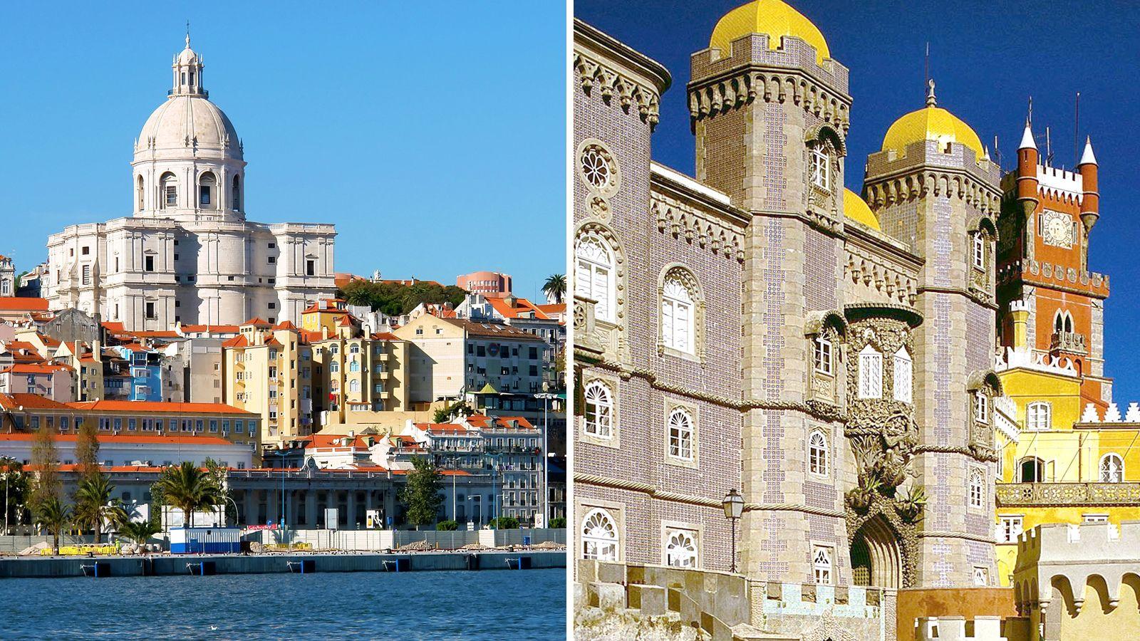 Offre combinée : visite classique de Lisbonne et Sintra