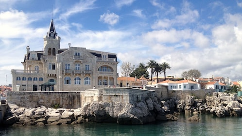 Palace on the coast of Estoril, Portugal