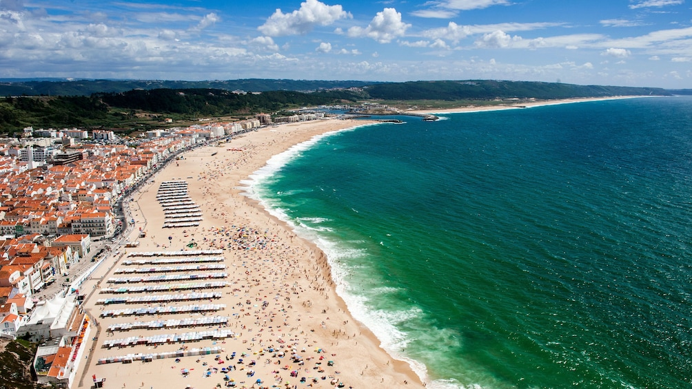 Show item 4 of 5. Coast of Nazare, Portugal