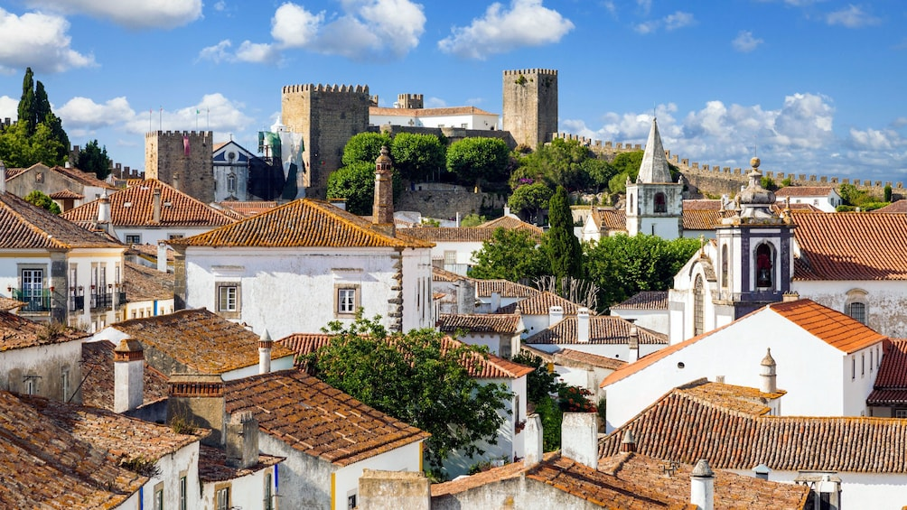 Show item 3 of 5. Rooftops of Obidos
