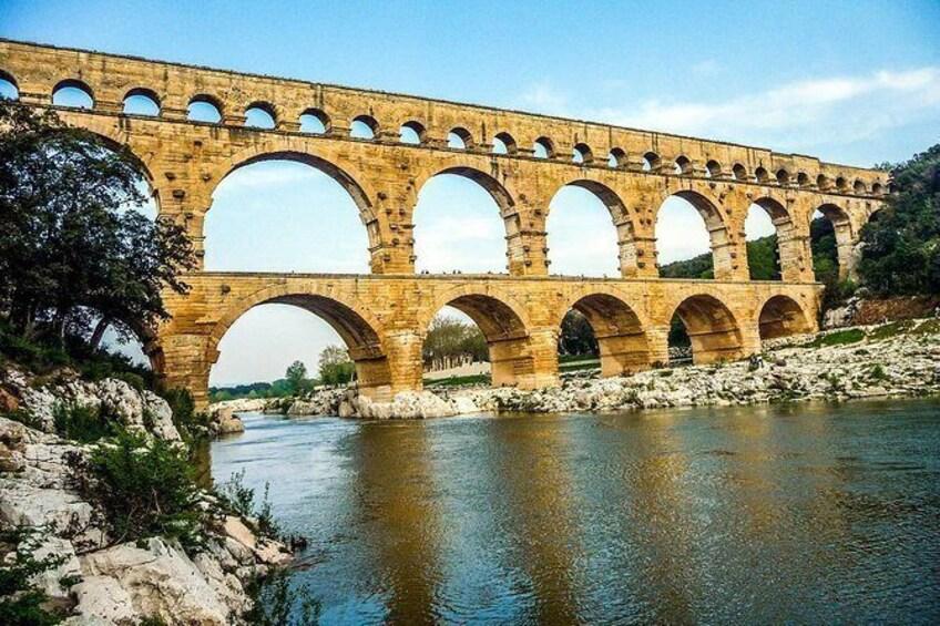 Show item 2 of 2. Pont du Gard Romain Aqueduc