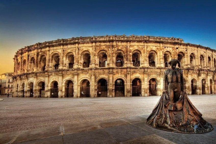 Show item 1 of 2. Private small group tour of Nimes and Pont du gard