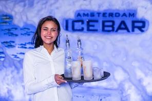 Billets pour le XtraCold Icebar d'Amsterdam avec boissons