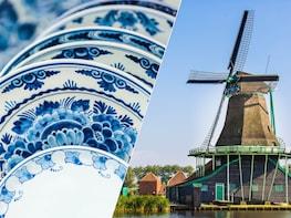 Tagesausflug: Das Beste von Holland + kostenlose 1-stündige Bootsfahrt