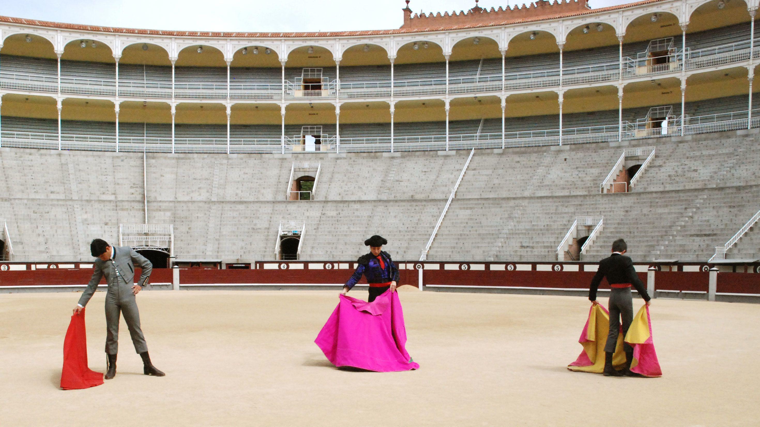 World's finest matadors inside the Las Ventas Bullring in Madrid