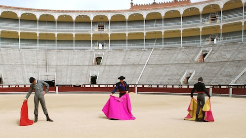 World's finest matadors inside the Las Ventas Bullring in Madrid