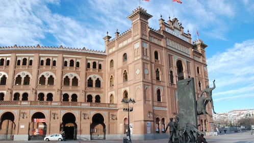 Outside Las Ventas in Madrid