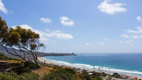 Coast line in the San Diego City sightseeing tour in California