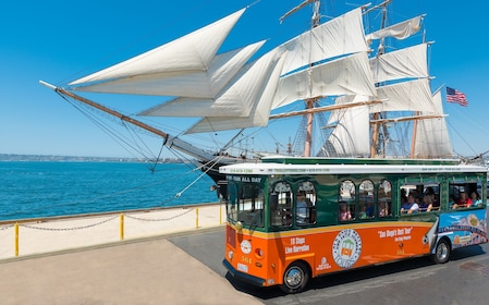 San Diego Old Town Trolley Hop-On Hop-Off Tour