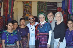 Antigua in your hands with Mayan village from Puerto Quetzal