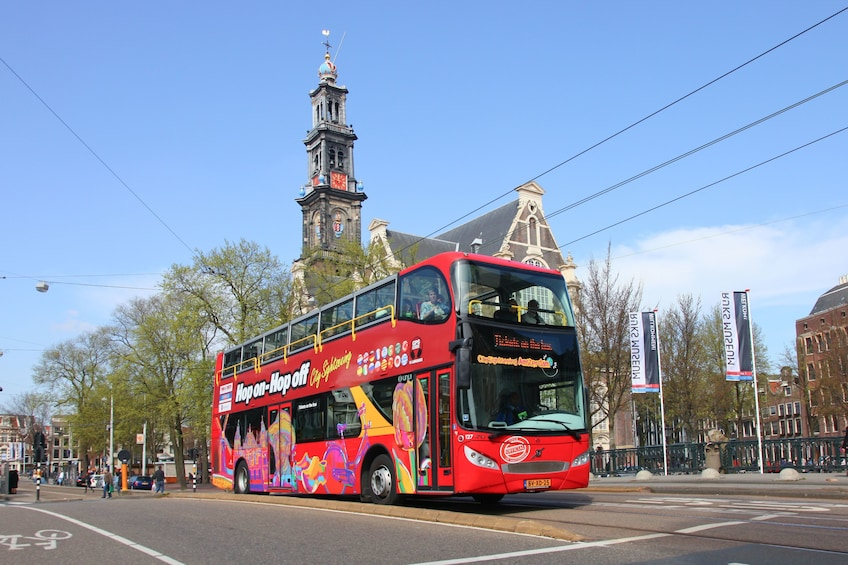 Show item 3 of 10. Amsterdam Hop-On Hop-Off Bus Tour & Canal Cruise