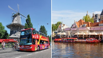 Amsterdam Hop-On Hop-Off Bus Tour