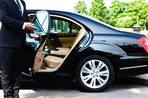 Private Airport Transfer from Larnaca Airport in a 4-seater taxi