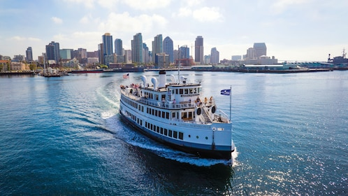 Cruise boat in San Diego