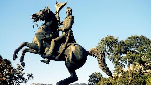 Equestrian statue in Washington DC