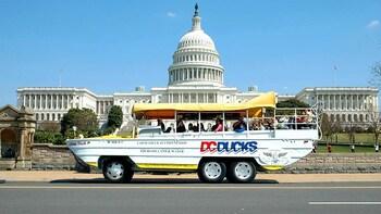 DC Ducks: Amphibious City Tour