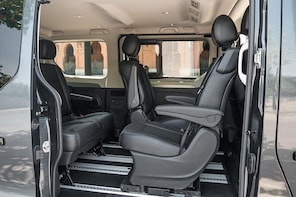 Arrival Private Transfer Catania Airport CTA to Syracuse City by Minivan