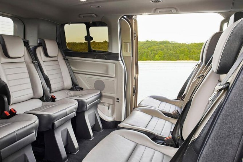 Show item 3 of 6. Luxury Van Mercedes V Class Interior