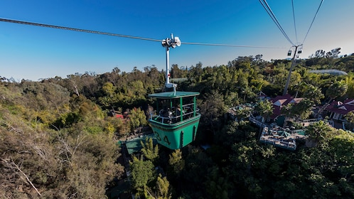 Gondola ride in the San Diego zoo.