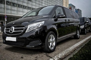 Departure Private Transfer from Ghent City to Brussels Airport by Luxury Va...
