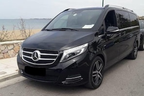 Departure Private Transfer Mykonos to Mykonos Airport JMK by Minivan