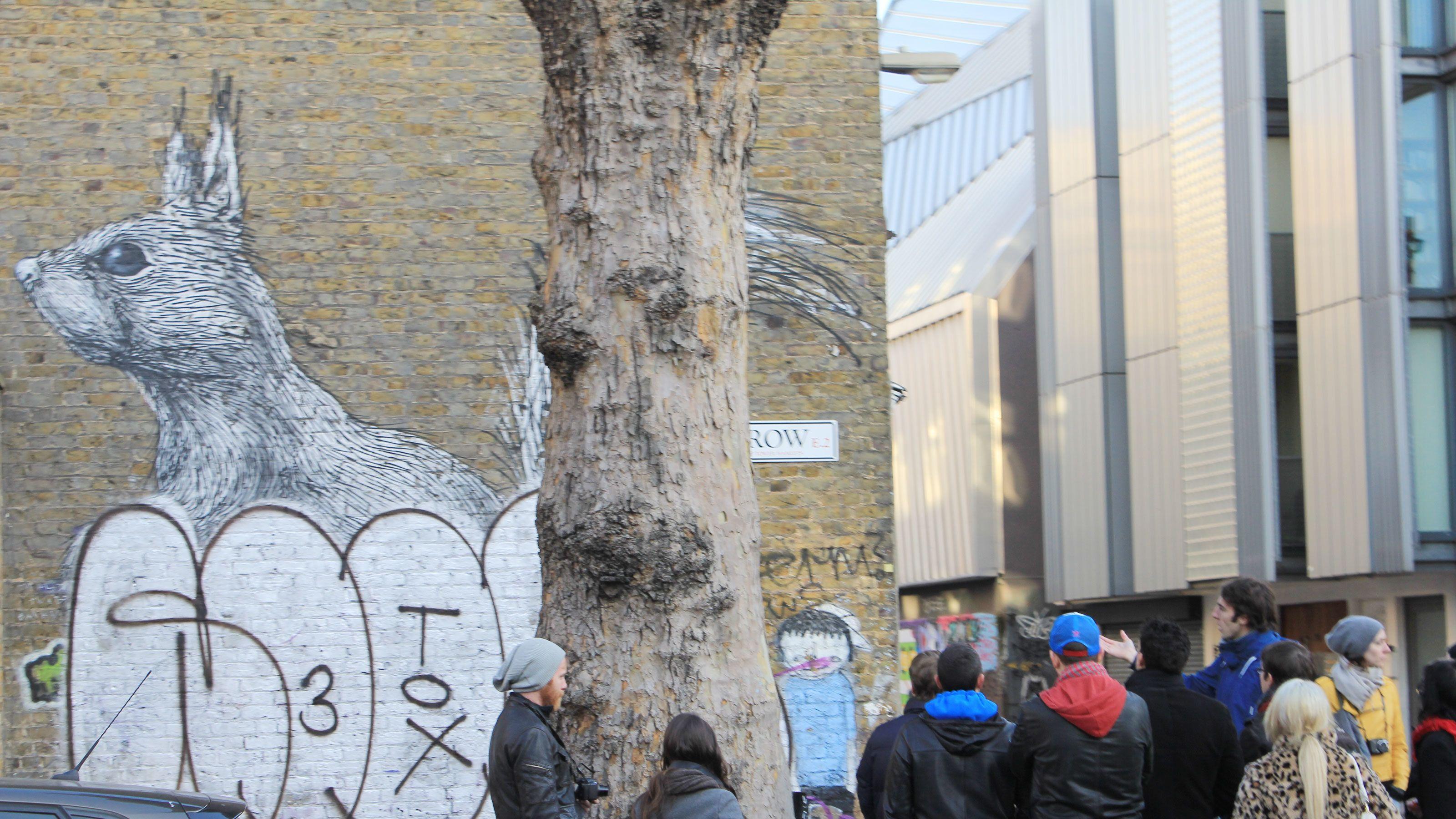 Street Art Tour of London