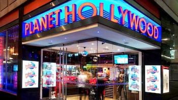 Essen gehen im Planet Hollywood