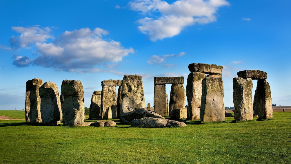 Show item 1 of 9. Stonehenge under bright blue sky in London
