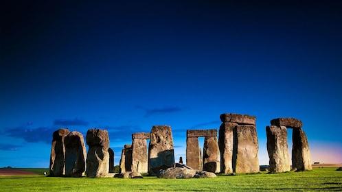Stonehenge at sunset in London