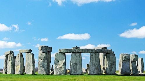 Stonehenge under sunny skies in London