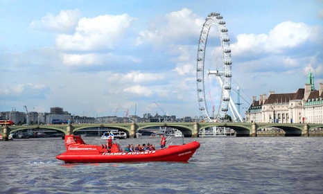 Thames Rockets: Speedboat Sightseeing Tour of the River Thames