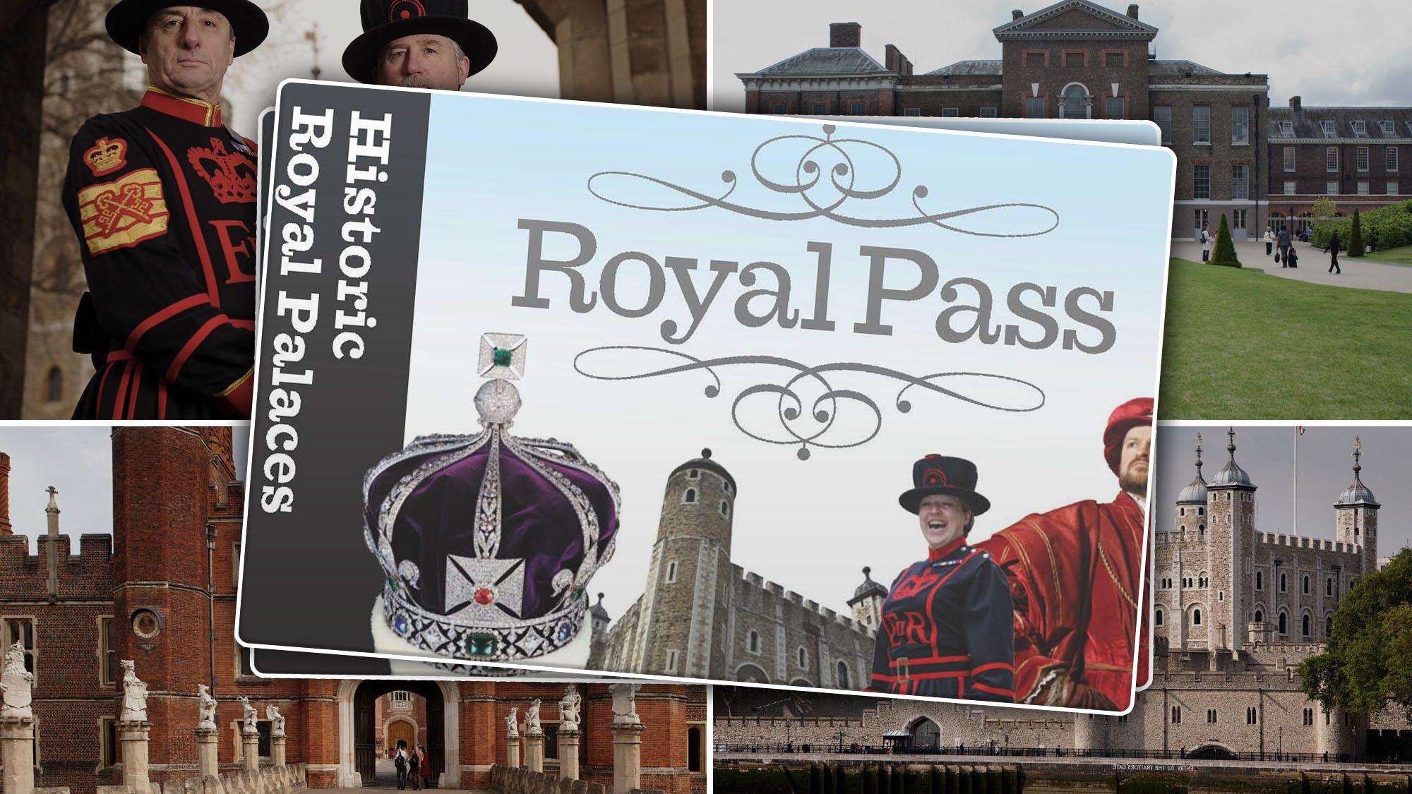 Royal Palaces Pass: Kensington, Hampton Court & Tower of London