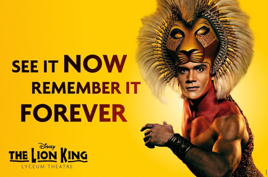 Show item 1 of 9. The Lion King
