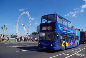 Tur med sightseeingbuss i London