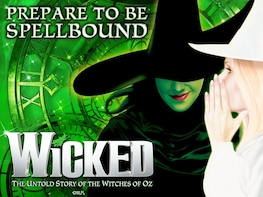 Wicked The Musical London Billetter