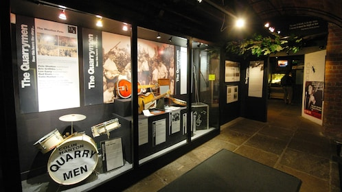 The Quarry men exhibit at museum in Liverpool in London
