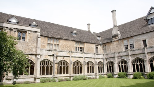 Lacock Abbey in the village of Lacock, Wiltshire