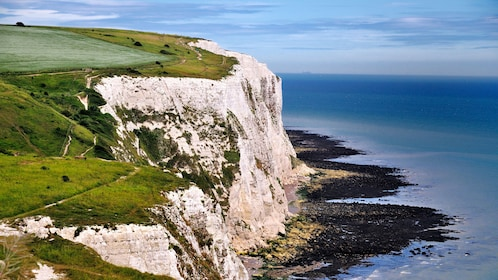 white cliffs of dover in London