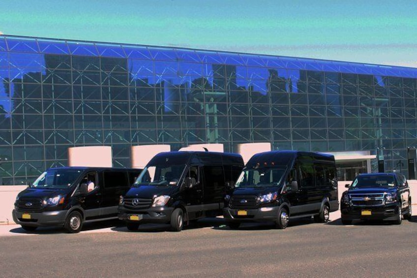 Show item 1 of 6. Private All Inclusive New York Transfer: Cruise Port to Airport or Manhattan