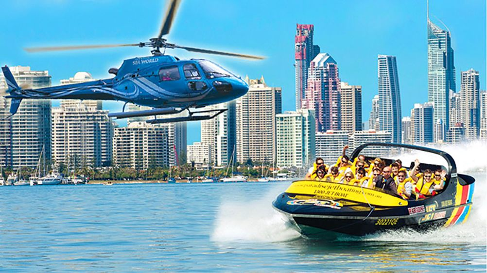 Jet Boat Ride & Scenic Helicopter Flight