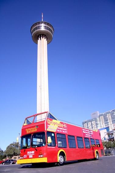 Show item 3 of 10. San Antonio Hop-On Hop-Off Bus Tour