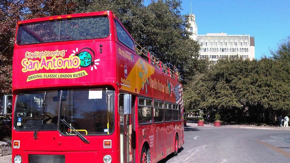 Show item 1 of 10. San Antonio tour bus