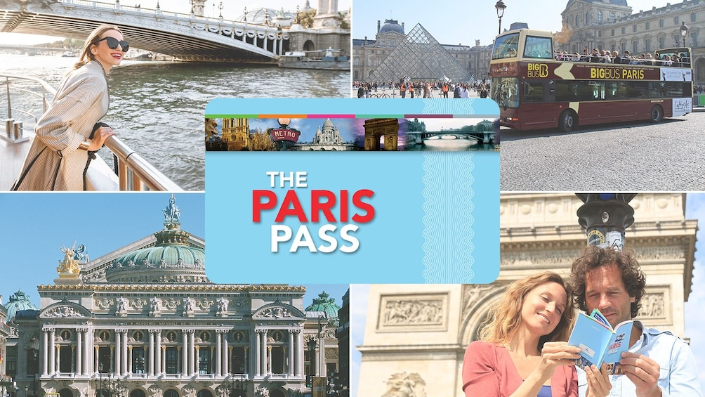 Foto 1 van 9. The Paris Pass®: 60+ Attractions and Tours