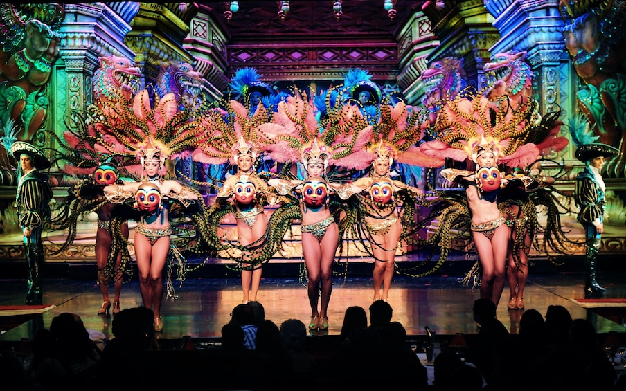 Show item 2 of 9. The Moulin Rouge Cabaret Show - Féerie