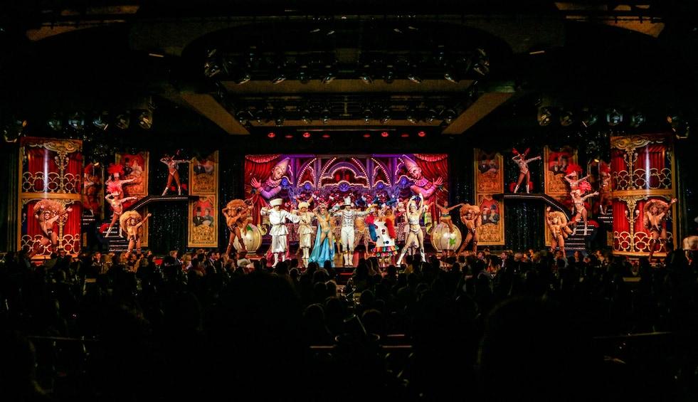 Show item 9 of 9. The Moulin Rouge Cabaret Show - Féerie