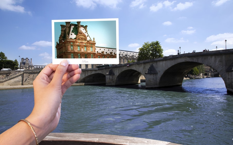 Show item 1 of 6. River Seine Sightseeing Cruise